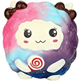 Wotryit 12cm Squishy Sheep Cartoon Kawaii Slow Rising Scented Squeeze Toy (A)