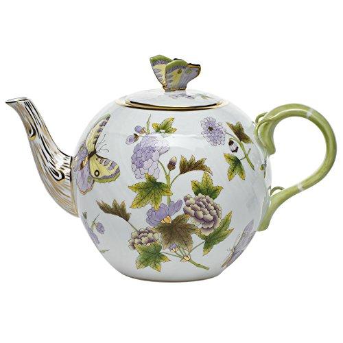 Herend China Royal Garden Tea Pot