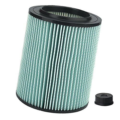 High Efficiency Vacuum Filter (Seelong Replacement Filter for Craftsman 9-17912 Wet Dry Vacuum Filter with High Efficiency Particle Air)