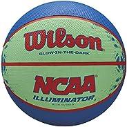 "Wilson NCAA Illuminator Glow in The Dark Basketball, 28.5"" Blue/Y"