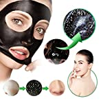 Black Mask Charcoal peel off mask- Blackhead Remover Purifying Deep Cleansing Facial Black Mask, Deep Pore Cleanse for Acne, Oil Control