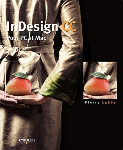 Livre InDesign CC