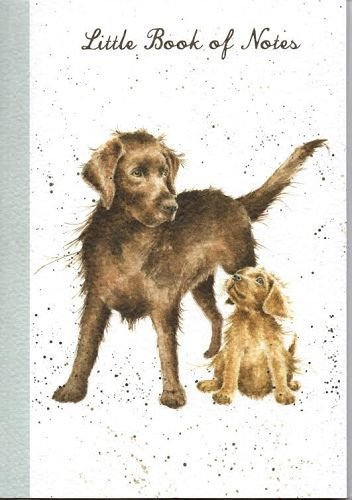 Wrendale Designs A6 Notebook - Puppy Love - Little Book of Notes