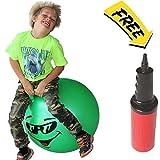 Jumping Hopper Hopping Hippity Hop Ball: Ages 7-9 (Green)