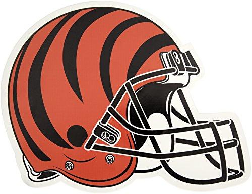 Applied Icon, NFL Cincinnati Bengals Outdoor Small Helmet Graphic Decal
