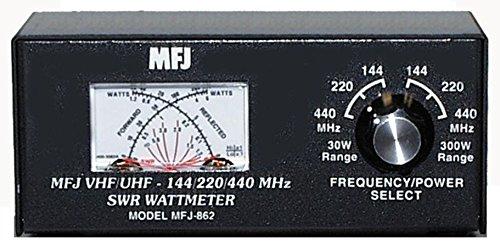 MFJ-862 MFJ862 Original MFJ Enterprises SWR meter, 144/220/440MHz, 30/300W