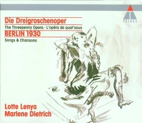 La Opera De Tres Peniques: Lotte Lenya, Marlene Dietrich ...