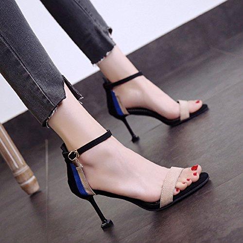 Girl Talons Et Mots 1color Ouvert Avec Chaussures Sauvages Chat Cool 4a6xwfqdq