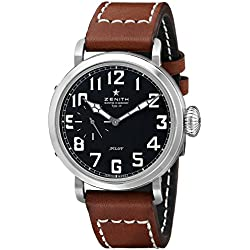 Zenith Men's 031930681.21C Pilot Analog Display Swiss Automatic Brown Watch