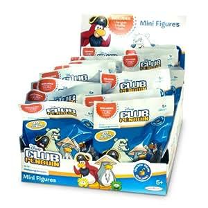 Club Penguin - Display de 1 sobre, con 2 figuras y 1 medallón (Giochi Preziosi 44462)