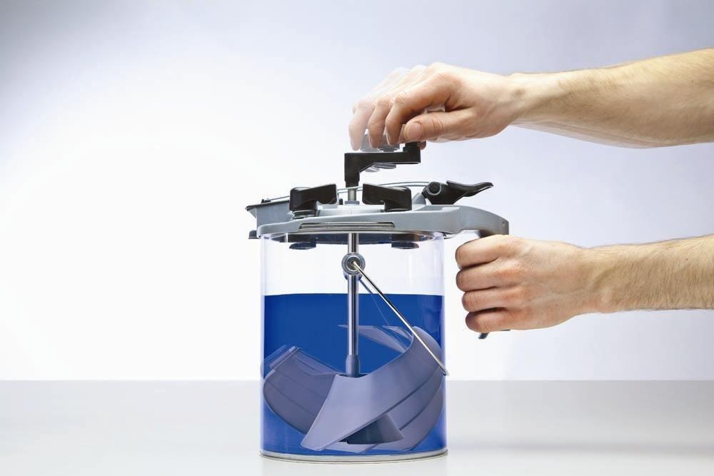 Mixing Mate - Tapa para lata de pintura de tamaño 4,5 L: Amazon.es: Bricolaje y herramientas