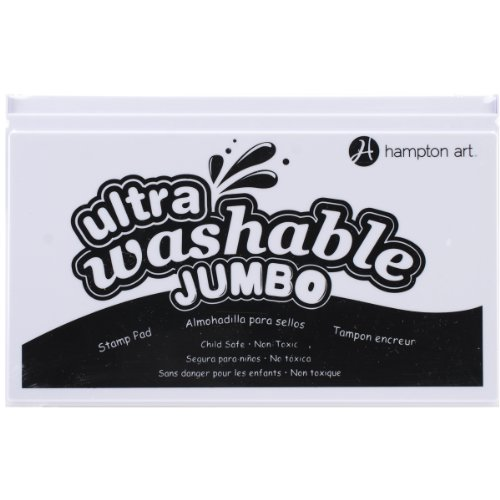 Hampton Art Black Jumbo Washable