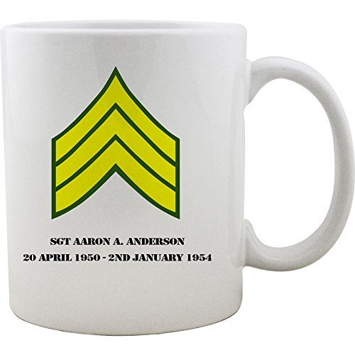 Sergeant Coffee Mug (Army Sergeant Rank Coffee Mug (11oz. White))