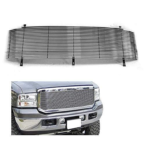 (1999-2004 Aluminum Billet Grille Grill Insert FITS F250 F350 F-250 F-350 F450 F-450 F550 F-550 SuperDuty Custom Front Grill )