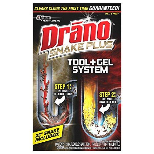 Drano 16 oz. Snake Plus Kit