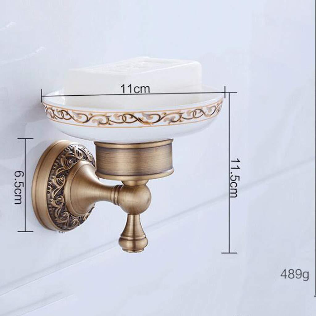 a6fad4d8cc11 ... TYXCFR Europea Baño Tallado Tallado Tallado Cuarto De Baño Cobre  Antiguo Baño Hardware Colgante Conjunto Clásico ...