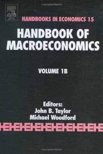 Handbook of Macroeconomics, Volume 1B
