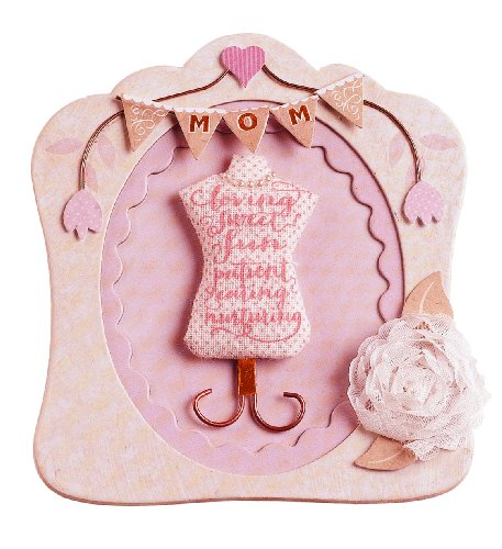 Jolee's Boutique Dimensional Stickers, Mom Frame (Chipboard Tags Layered)