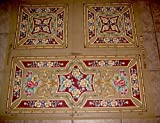 Victorian Style Rug Runner/Table Topper & Pillows Needlepoint Canvas, NOT A KIT