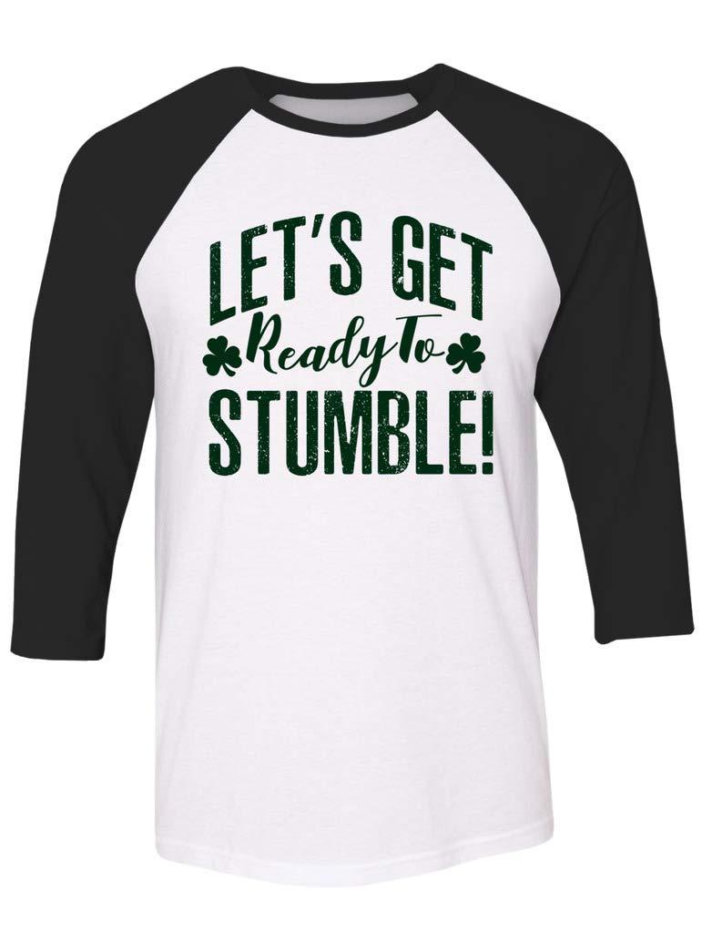 S Lets Get Ready To Stumble Raglan T Shirts