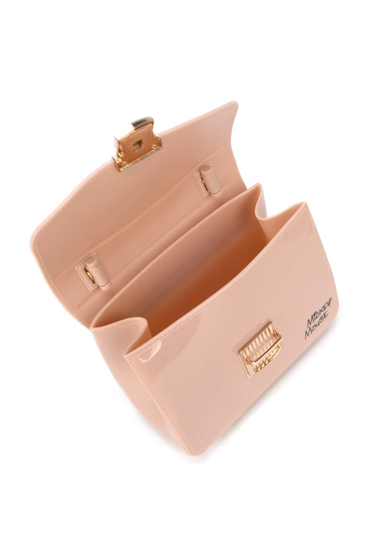 95eed3cd3 Bolsa De Mão Transversal Mickey Luxcel Nude: Amazon.com.br: Papelaria e  Escritório