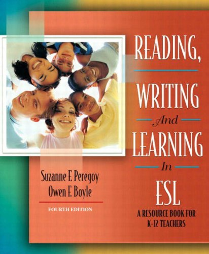 reading writing and learning in esl Unlike many texts in this field, reading, writing and learning in esl takes a unique approach by exploring contemporary language acquisition theory as it relates to instruction and providing suggestions and methods for motivating and involving english language learners.