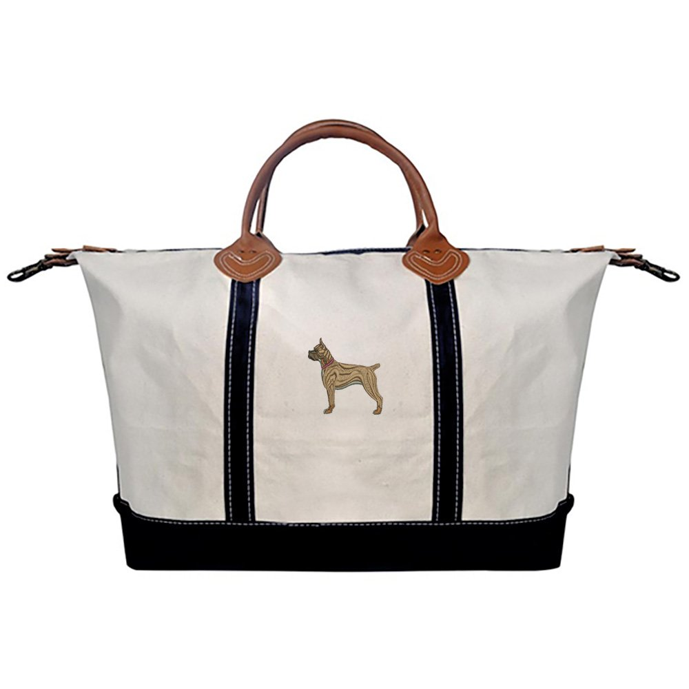 Boxer Ears Up Overnight Bag