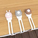 Child/Baby Safety Cupboard Strap Locks, Baby Proof Cabinets, Child Safety Locks for Door Fridge, Drawers, Appliances, Toilet Seat, Fridge and Oven, Easy Install, No Tools Need (9 Pack)