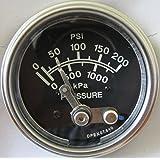 Veethree 117161 Pressure Switch Gauge 200psi
