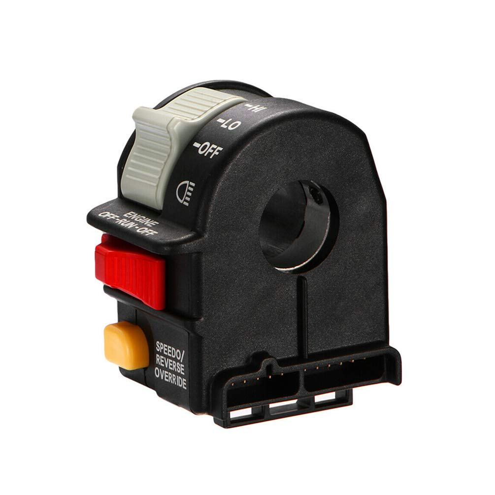 Handlebar Headlight HI/LO/OFF Beam Light/Kill/Stop Switch for 2001-2005 Polaris Sportsman ATV/Motorcycle/Snowmobile/Watercraft 4010591 by TOEDUK