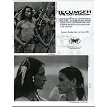 1995 Press Photo Jesse Borego in Tecumseh-The Last Warrior - cvp51271