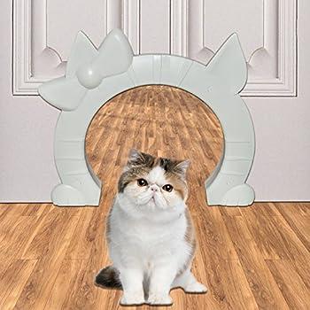 Amazon Com The Kitty Pass Interior Cat Door Hidden