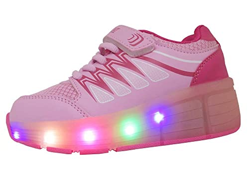 WINNEG Zapatos Led Niñas Deportivos para 5 Color USB Carga LED Luz Glow Flashing Zapatillas Niño: Amazon.es: Zapatos y complementos