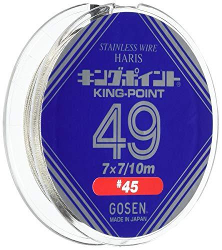 ゴーセン(GOSEN) ハリス キングポイント49 シルバー 10m 45/49 GWN-800 GWN8004549の商品画像