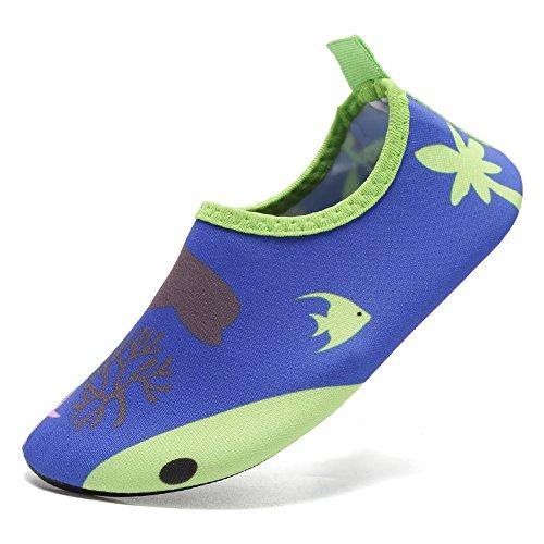 CIOR Männer Frauen und Kinder Quick-Dry Wasserschuhe Leichte Aqua Socken Für Beach Pool Surf Yoga Übung Unterwasserwelt