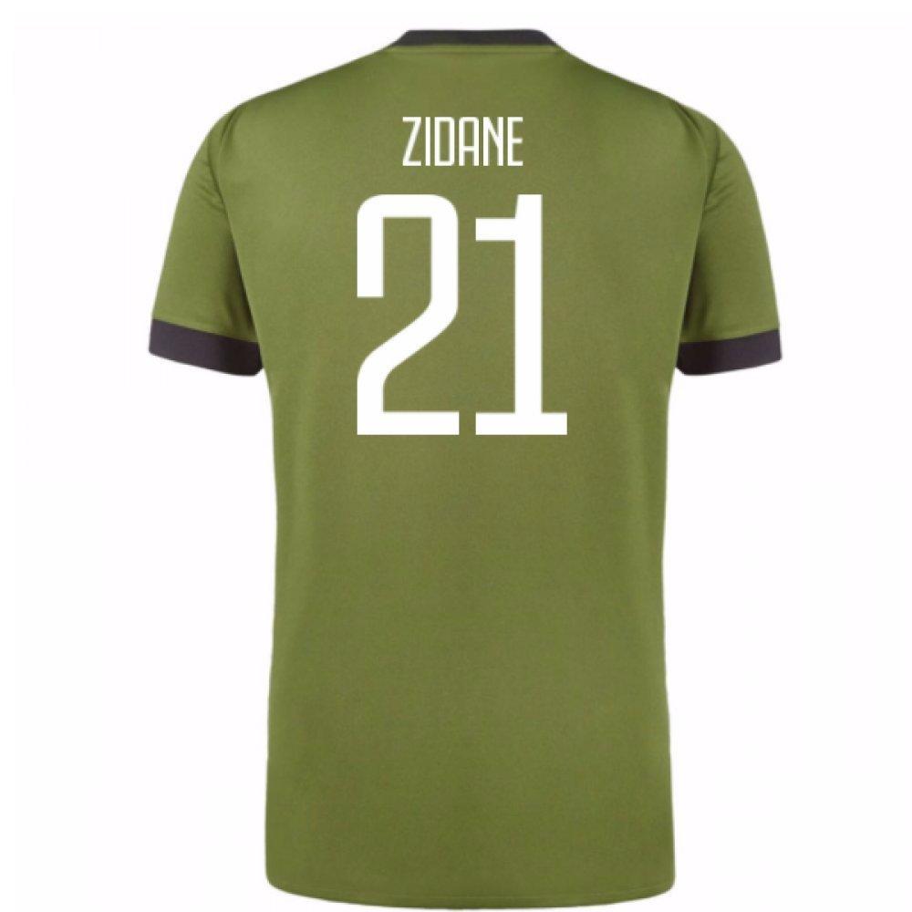 2017-18 Juventus Third Shirt (Zidane 21) B078JSQPDCGreen Medium 38-40\