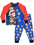 Paw Patrol Boys' Chase Marshall & Rubble Pajamas Size 8 Multicolored