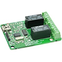 Numato Lab 2 Channel USB Powered Relay Module