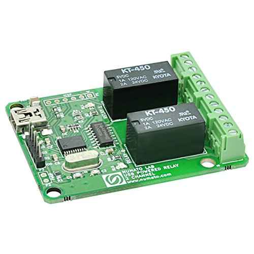 Numato Lab 2 Channel USB Powered Relay Module (Relay Serial Board)