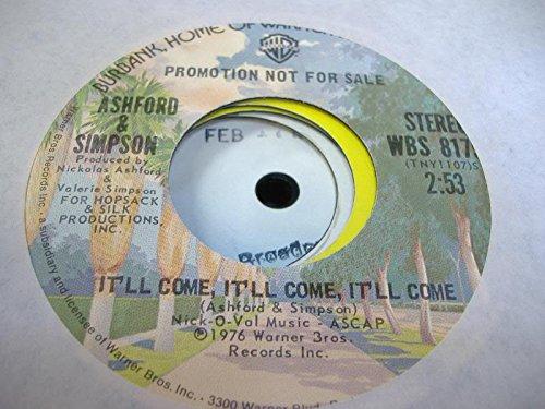 ASHFORD & SIMPSON 45 RPM It'll Come, It'll Come, IT'll Come / - Ashford Mall