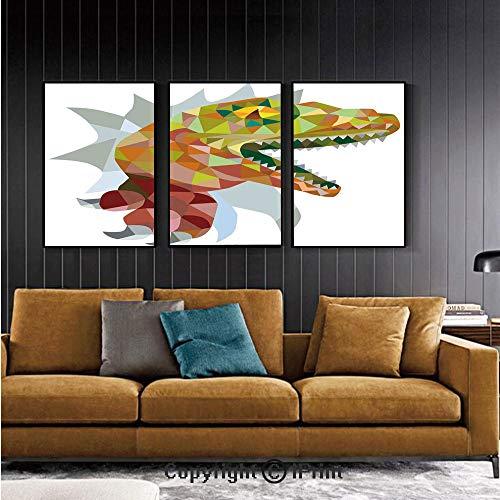 Mural de pared para recámara Exótico Grumpy Lizard sosteniendo ...