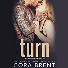 Turn Audiobook by Cora Brent Narrated by Rock Engle, Mackenzie Harte