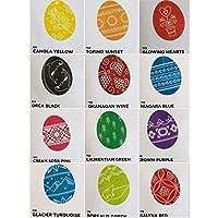Pysanky dye Ukrainian Easter egg dyes coloring supplies set of 12