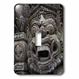 Danita Delimont - Statues - Indonesia, Bali. Temple Statue in a sacred Balinese Hindu site. - Light Switch Covers - single toggle switch (lsp_225785_1)