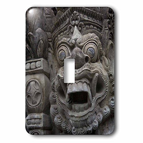 Danita Delimont - Statues - Indonesia, Bali. Temple Statue in a sacred Balinese Hindu site. - Light Switch Covers - single toggle switch (lsp_225785_1) by 3dRose