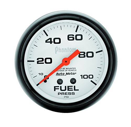 UPC 046074058127, Auto Meter 5812 Phantom Mechanical Fuel Pressure Gauge