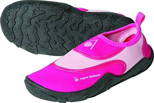 Aqua Sphere Kinder Beachwalker Neopren Wasser/Strand Schuh pink rosa