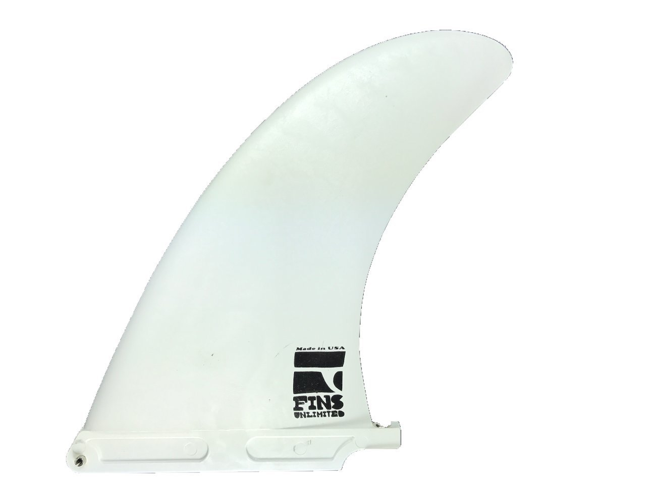 Fins Unlimited 8'' Price Point Fin White