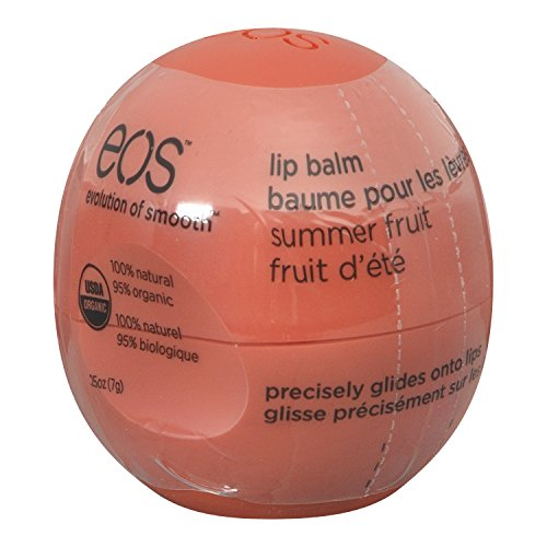 eos Smooth Sphere Lip Balm, Summer Fruit, 0.25 oz