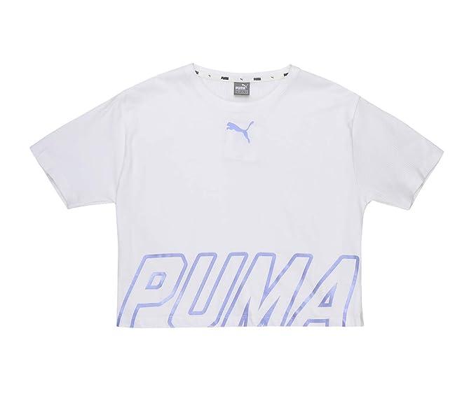 Puma Girls Alpha Logo Tee G T-Shirt